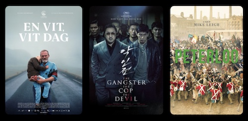 A screenshot of movie covers